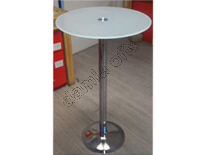 Cam bistro masa, bistro masa modelleri, cam cafe masası.