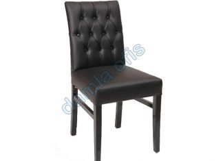Deri kapitoneli restaurant sandalye, deri sandalye, restaurant sandalye modelleri.